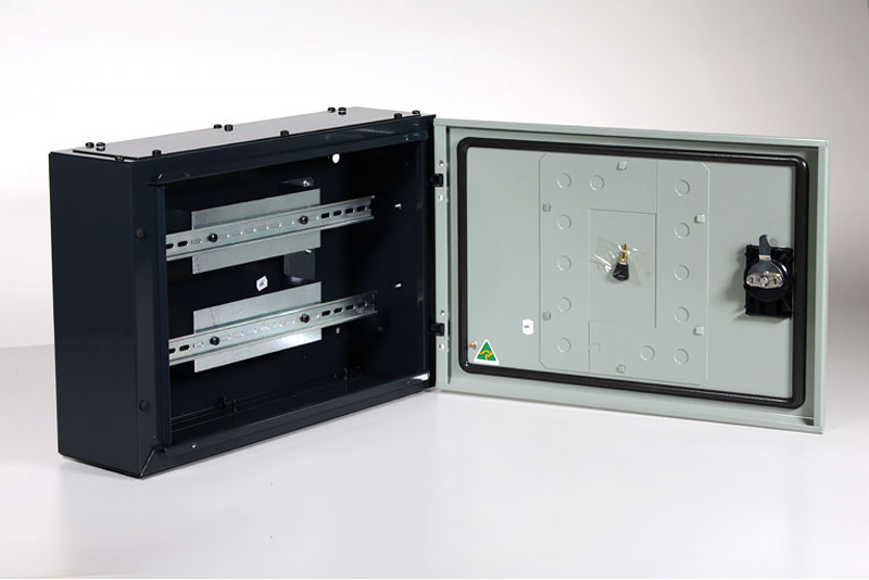 fabricated sheet metal cabinet product