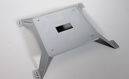 Sheet metal sub-assembly components